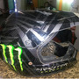 Casco Motocross Monster Talla L