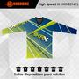 Jersey De Motocross - High Speed - Precio De Introducción
