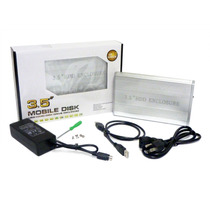 Case Caja Externa Disco Duro Ide 3.5 Aluminio Case Externo