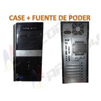 Combo Case Con Fuente De Poder Atx Oferta!!