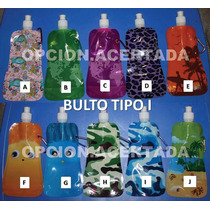 Botella Exprimible Termo Camping Pop Plegable Agua Deporte