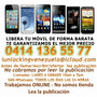 Liberar Iphone Lg Htc Huawei Lumia 520/925 Att Blackberry
