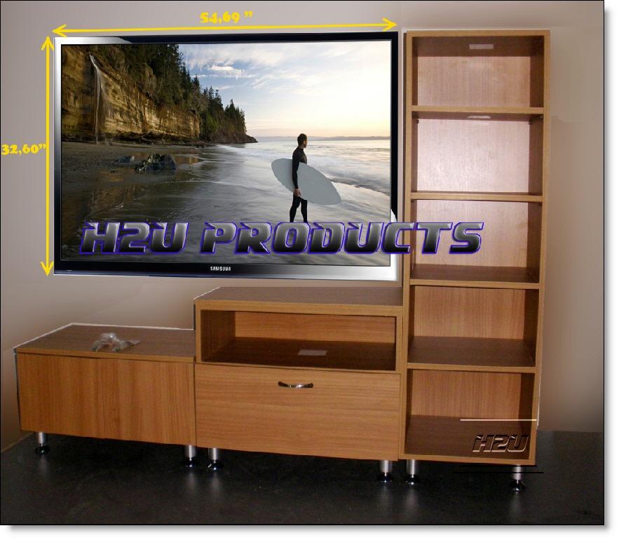 Como hacer mueble para tv plasma for Cama de 60 pulgadas