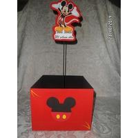 Cajitas Para Centros De Mesa Mickey, Minnie Y Sus Amigos