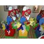 Centros De Mesas Infantiles De Mario Bross