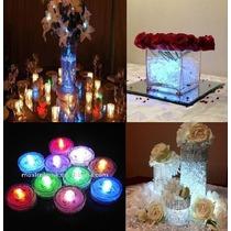 Luces Led Sumergibles Luz Multicolor Decoracion Boda 15 Años