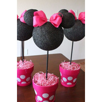 Centros De Mesa Mickey Mouse Minnie Mouse