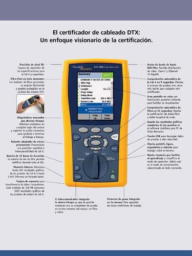 Certificacion Redes, Cableado De Cobre Y Fibra Optica - Todo