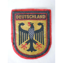 Sello Bordado Con Escudo De La República Federal De Alemania