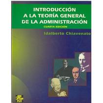 Libro, Introducción A La Teoría General De La Administración