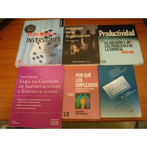 9 Libros: Gerencia, Administración, Finanzas, Contabilidad