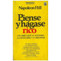 Libro, Piense Y Hágase Rico De Napoleon Hill.