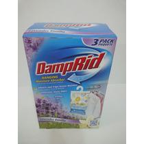 Damprid Absorbedor De Humedad Colgante Para Closet 3 Pack