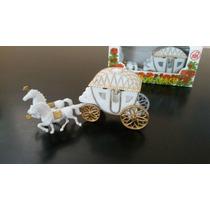 Carroza Decorativa Para Tortas Boda / 15 Años / Princesa