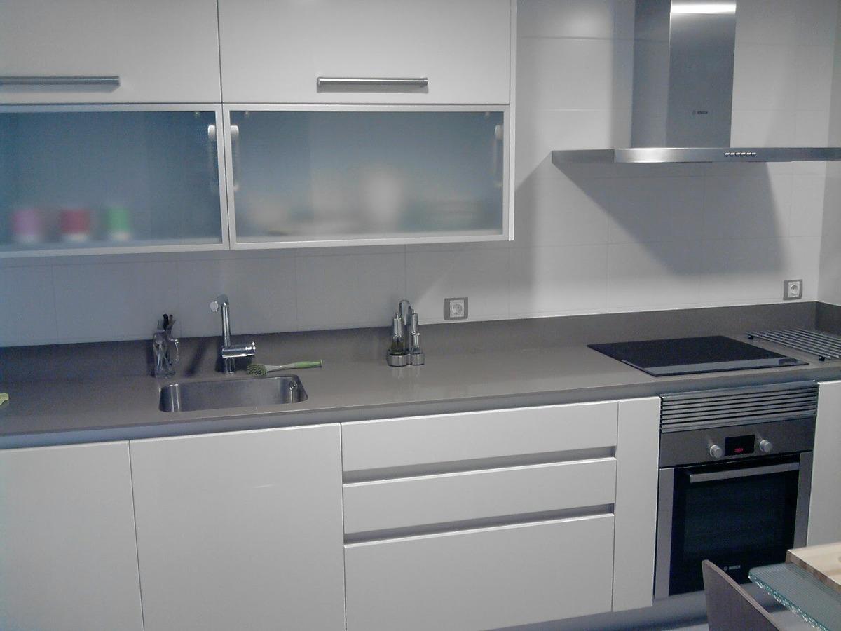 Muebles de cocina color gris claro ideas interesantes para dise ar los ltimos - Cocinas soinco ...