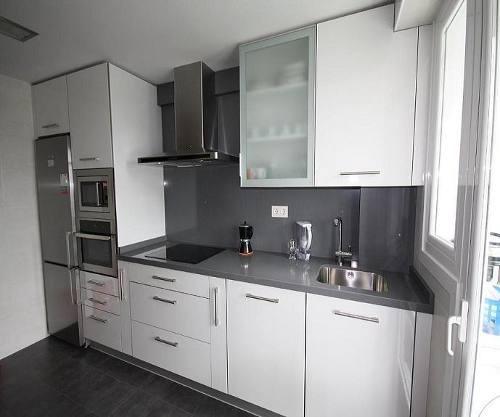 Cocinas empotradas todos los modelos dise os 3d asesor a - Muebles de cocina pequenos ...