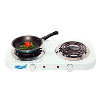 Cocina Electrica 2 Hornillas Mlplus 110 V Factura Legal