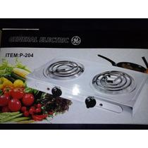 Cocina Eléctrica 2 Hornillas 2 X1000w Y 2x3000w