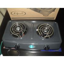 Cocina Eléctrica Portatil 2 Hornillas Nueva
