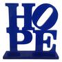 Escultura Hope En Acrílico - Envío Gratis