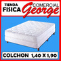 Colchon Semi-ortopedico Paradise Matrimonial 1,40 X 1,90 Mts
