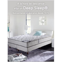 Colchón Simmons Deep Sleep 1,60x1,90 Mts