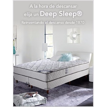 Colchón Simmons Deep Sleep King 2x2 Mts