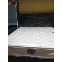 Colchon Ortopedico Queen Simmons 1.60 1 Pilow Top Deep Sleep