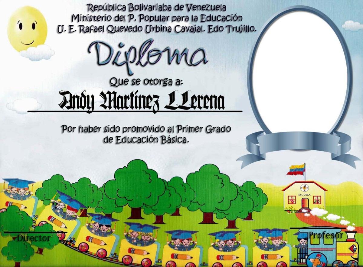 Plantillas de diplomas de preescolar - Imagui