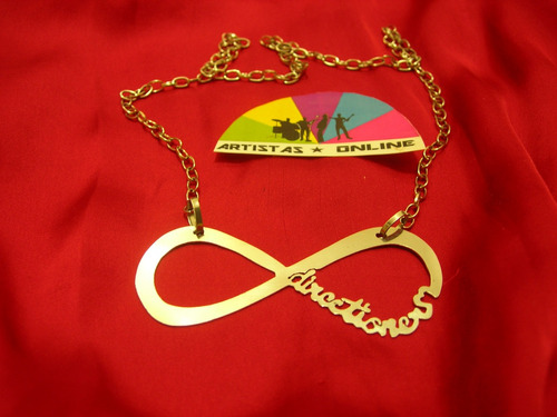 Collar One Direction Y Justin Bieber Infinito