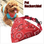 Collar Pañoleta Cascabel Perros Accesesorio Ajustable S M L