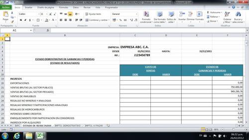 Combo Programas Islr Persona Juridica Y Natural Lvbp13