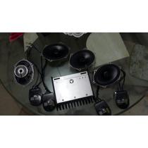 Sonido Jl Audio Incluye Planta, Bajo Y Cuatro Cornetas