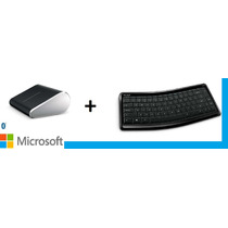 Mouse Y Teclado Microsoft Inalambrico Combo Bluetooht