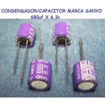 Condensadores/capacitor Para T/madre/video Usa 680uf X 6.3v