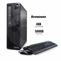 Lenovo Thinkcent M73 I3 3.4 Ghz Intel Core 4gb Ram 500hdd