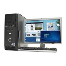Computador Dell Xps420 Core 2 Quad Con Monitor 19 Lg Lcd