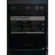 Computadora Cpu Hp Compaq Presario Sg3010la Original
