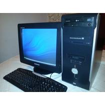 Computadora Pentium 4 Con Monitor Crt De 19 Pulgadas Samsung