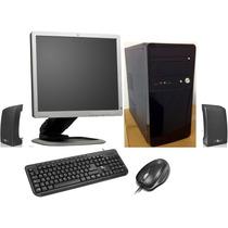 Computadora Intel ® Dual Core ® Nueva!! 4gb Ram Con Monitor