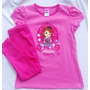 Princesa Sofia Conjunto Pijama Pantalon Niña Import Original