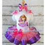 Disfraz Vestido Frozen Sofia Minnie Descendientes Mal