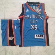Uniformes Camisetas De Basket Nba Niños Okla Lakers Bulls