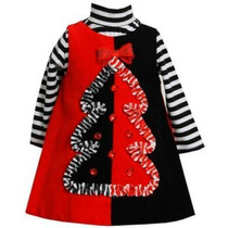 Vestido Jumper Para Navidad De Niña Talla 24 Meses