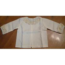 Camisa Infantil Recien Nacido Talla Unica Ivory Importada