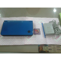 Nintendods Xl Color Azul En Perfecto Estado Tarjeta R4 M 4gb