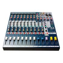 Consola Soundcraft Efx8 De 8 Canales Mono Y Dos Stereo