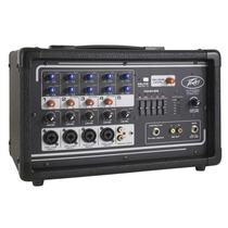 Peavey Pv5300 Consola Amplificada Mixer 5 Canales 200w