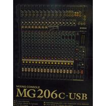Consola Yamaha Mg206c-usb 20 Canales