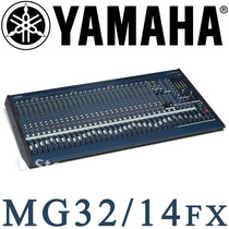 Consola Pasiva 32 Canales Mg32/14fx Usada Con Estuche Case.